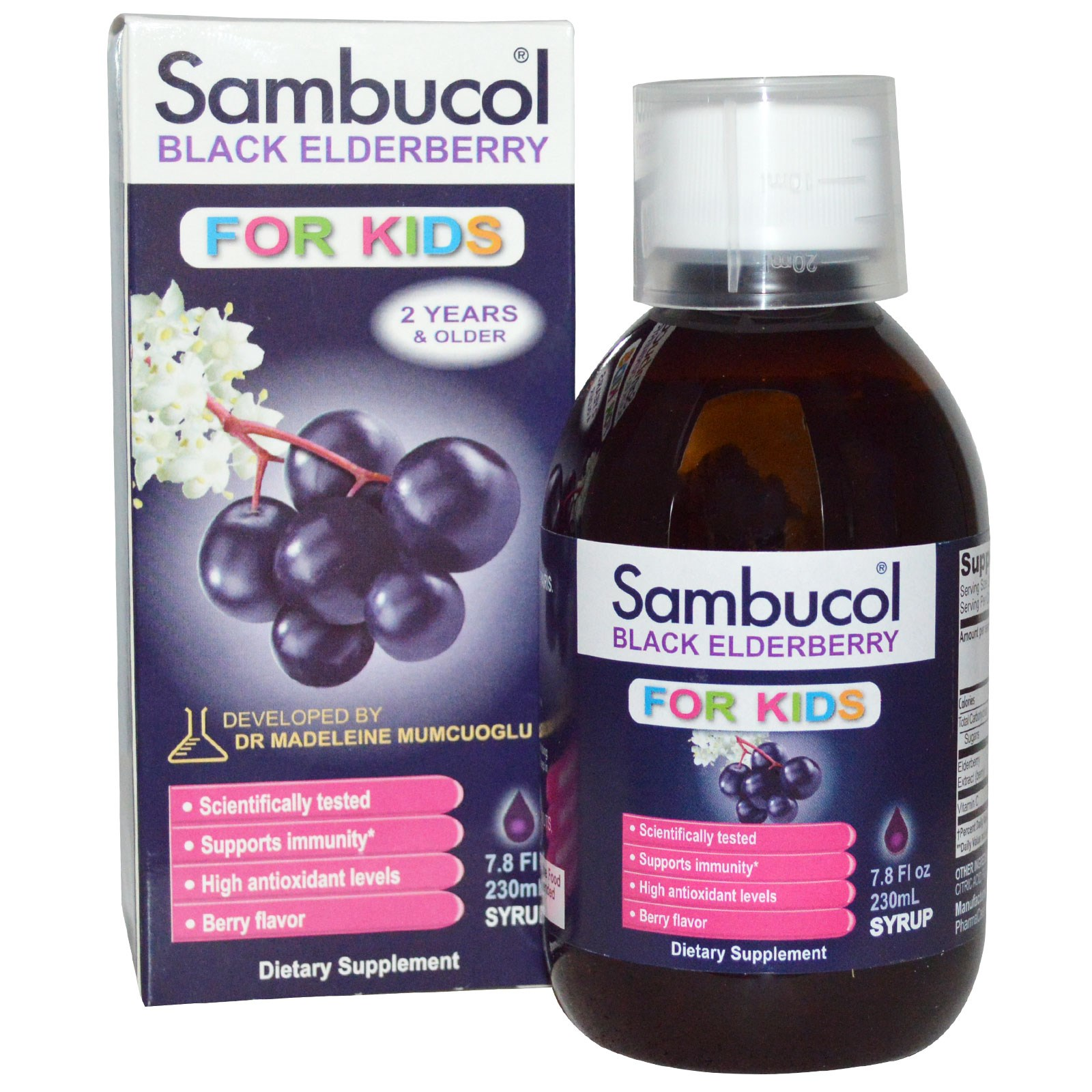 Sambucol Popular Children S Supplement For Strengthening